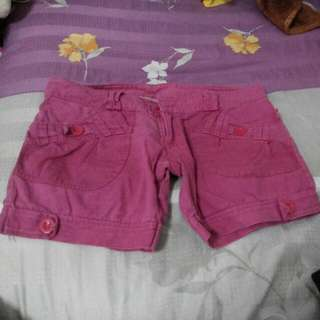 Faded Pink Shorts