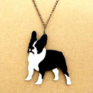 Le French Bulldog II Necklace