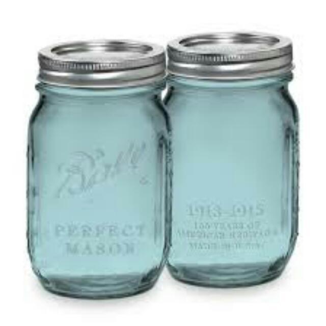 Ball Mason Jar Heritage Collection (Blue)