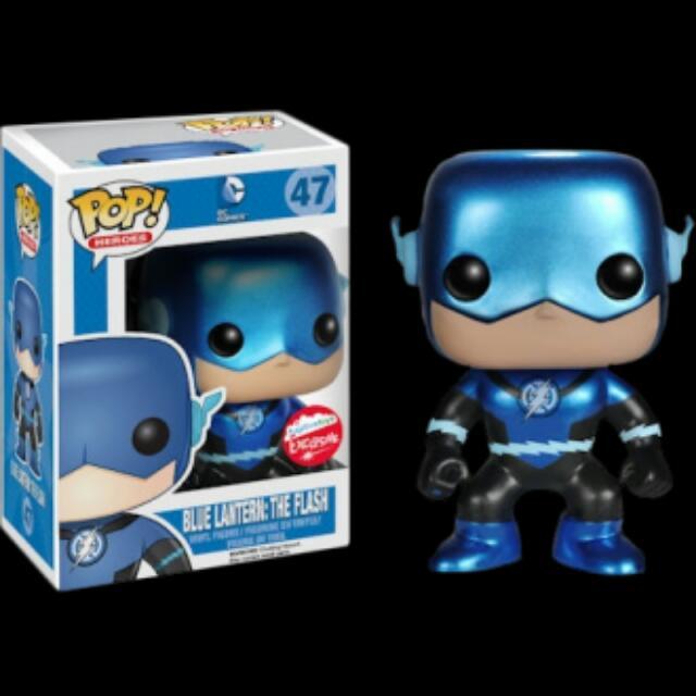 Vinyl Figure FunKo Free Shipping! Blue Lantern Flash Pop The Flash