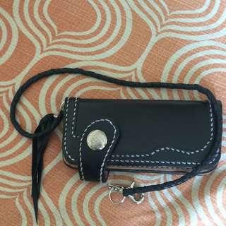 Long Leather Wallet + Rein