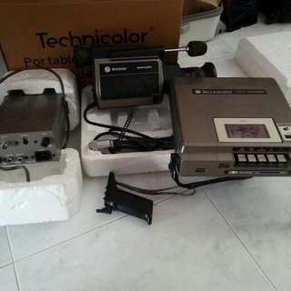 1980 Very Very Rare Cassette Video Recorder