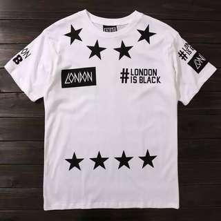 LONDON IS BLACK TEE