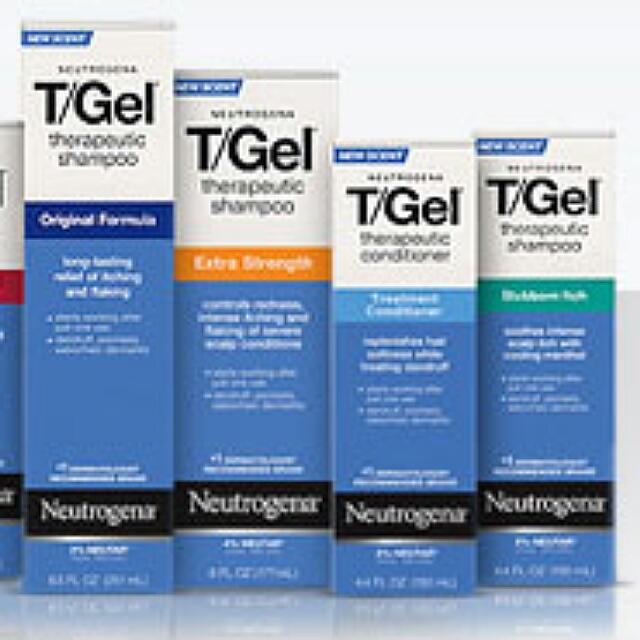BN Neutrogena T/Gel Therapeutic Shampoo & Conditioner for