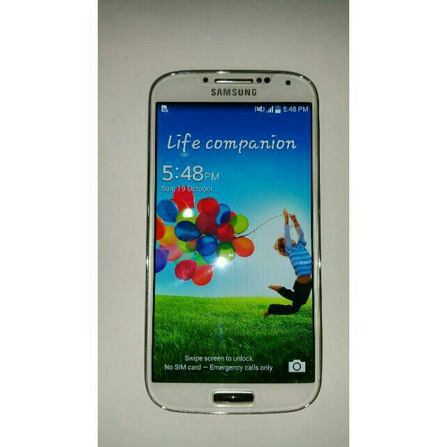 Samsung S4 White