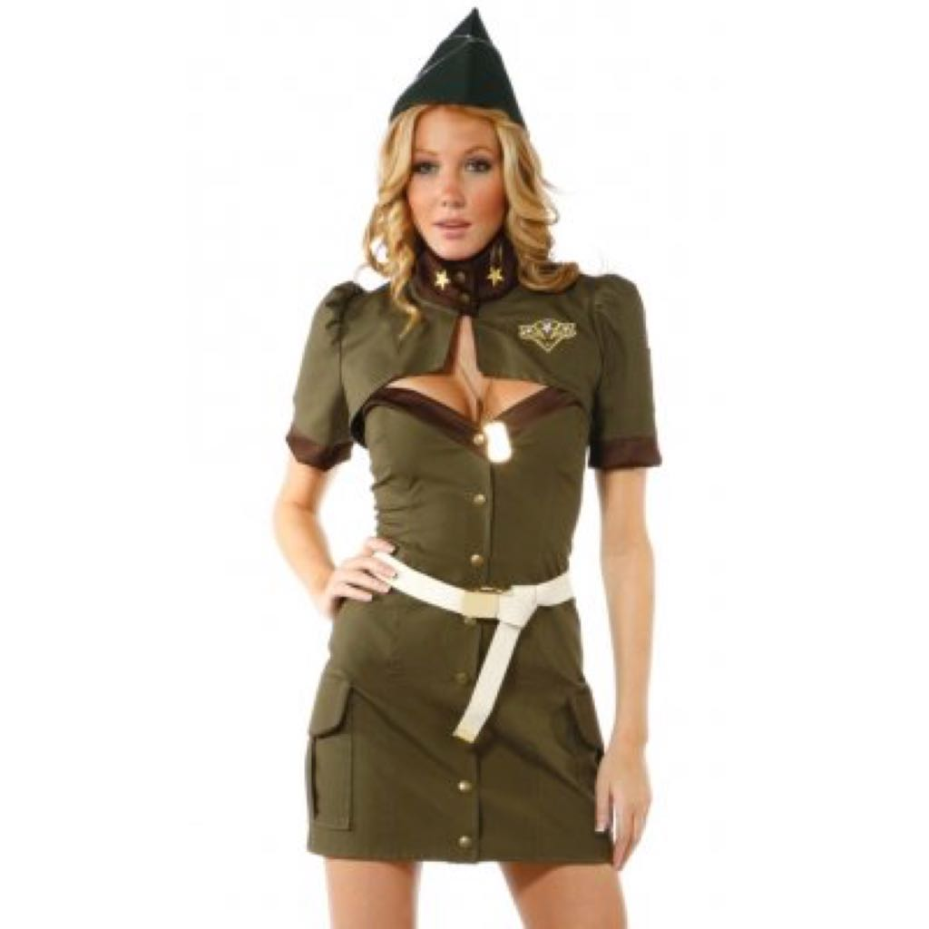 Military Girl/Peggy Carter Halloween Costume