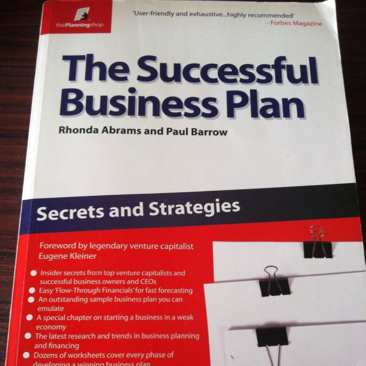 The Successful Business Plan Books Stationery On Carousell