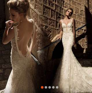 Galia Lahav Inspired Wedding Gown