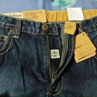 Brand New Authentic Vintage Timberland Boot Cut Jeans To Let Go At $119. Interested, please Call 90060574