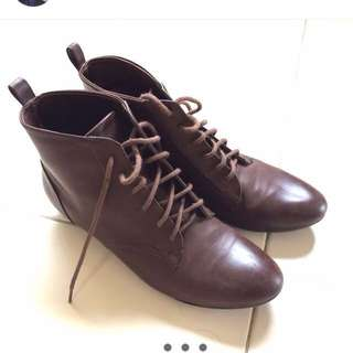 HnM Brown Boots - Size 38