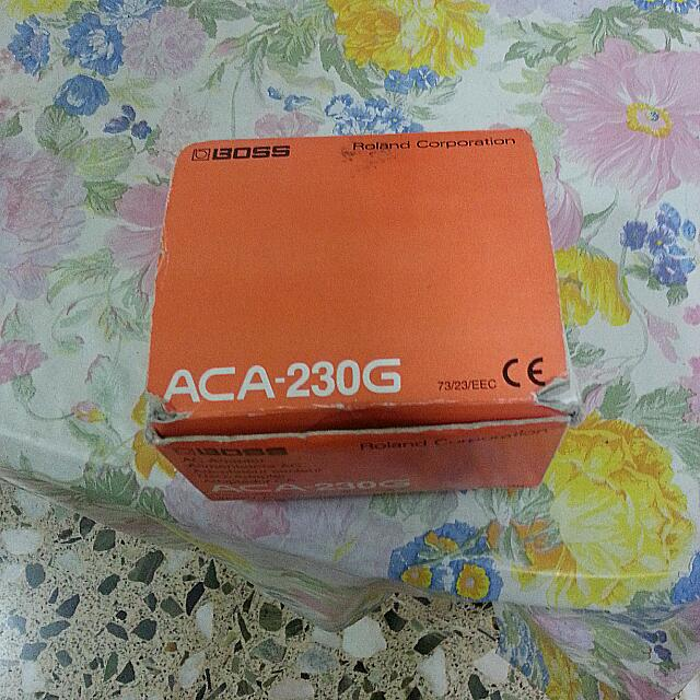 Boss ACA-230G AC Adapter For Pedals, 300mA