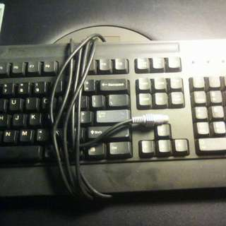 IBM Keyboard PS/2 Working Condition