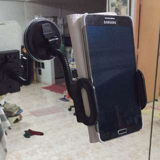 Hp Phone Holder With Glass Suction