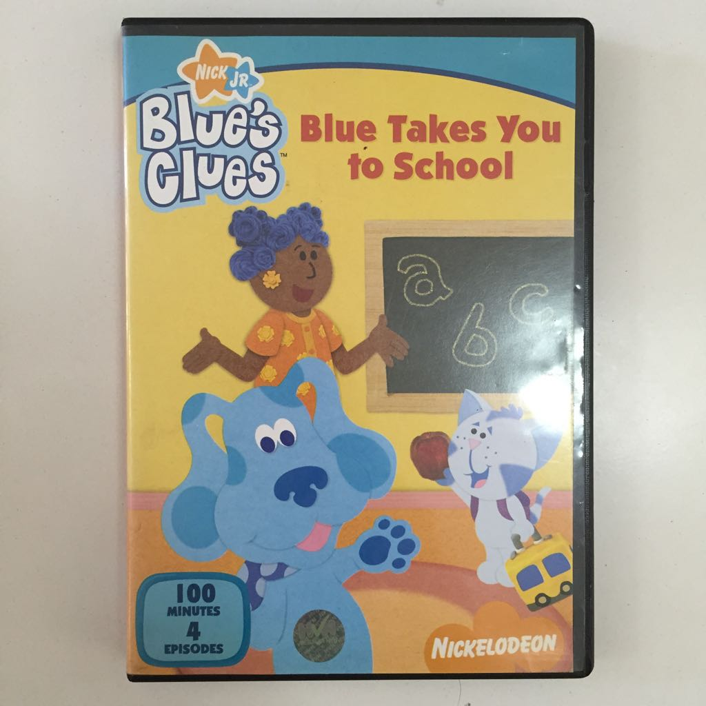 Nick JR  Blue's Clues DVD Clearance Children Kids Pre-loved