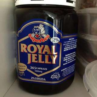 Super Bee Royal Jelly 1000mg 365 Capsules