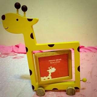 長頸鹿可愛相框