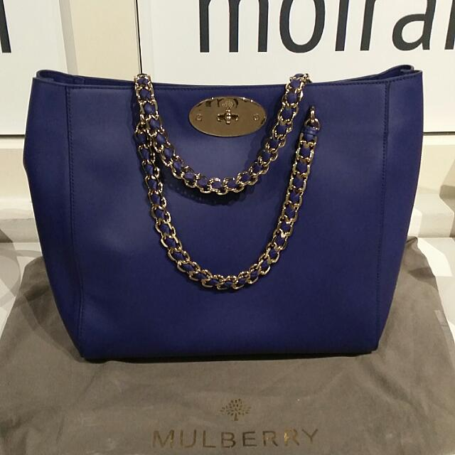 acd06e8e8a39 coupon code for mulberry cecily tote in royal blue luxury on carousell  38dfd 7e52f