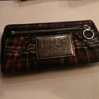 Coach Poppy Long Wallet..