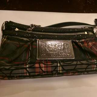 Coach Pouch With Handle