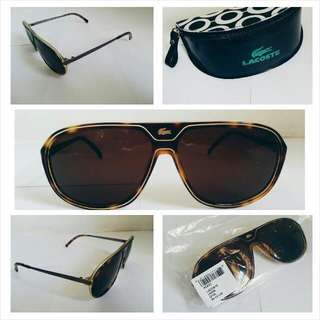 Authentic Discontinued Lacoste Tortoise Shell Frame