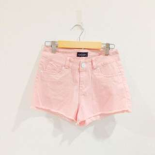 BNIP Topshop Inspired Pastel Pink High Waist Shorts