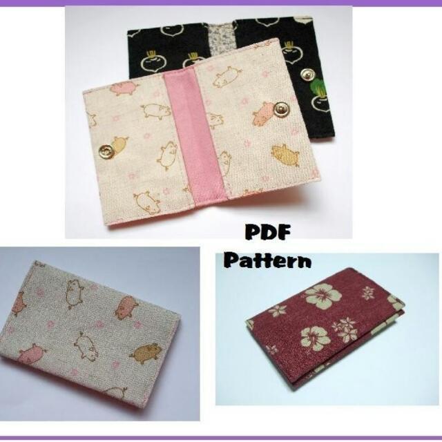 Instant Download PDF Pattern - CASIE Card Wallet PDF Sewing Pattern ...