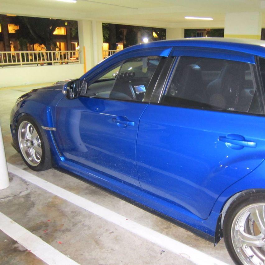 Subaru Impreza Gh Shades Car Accessories On Carousell