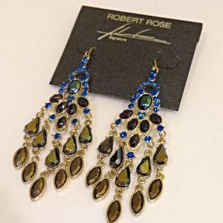 BN Robert Rose Elegant Earrings