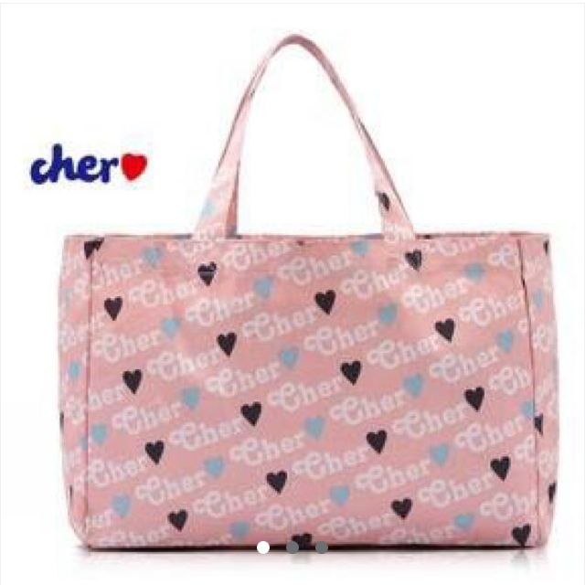 CHER Tote Bag In Pink♥︎