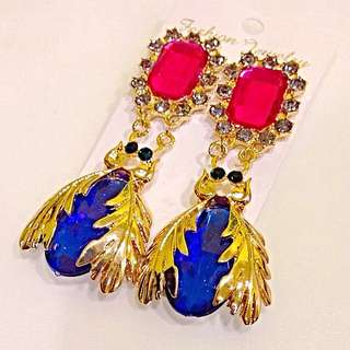 BN Meticulous Beetle Earrings