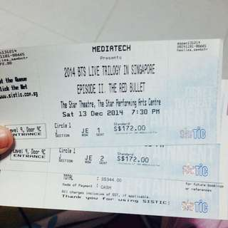 [WTS] BTS The Red Bullet In SG