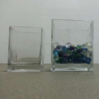 Vase with Glass Beads