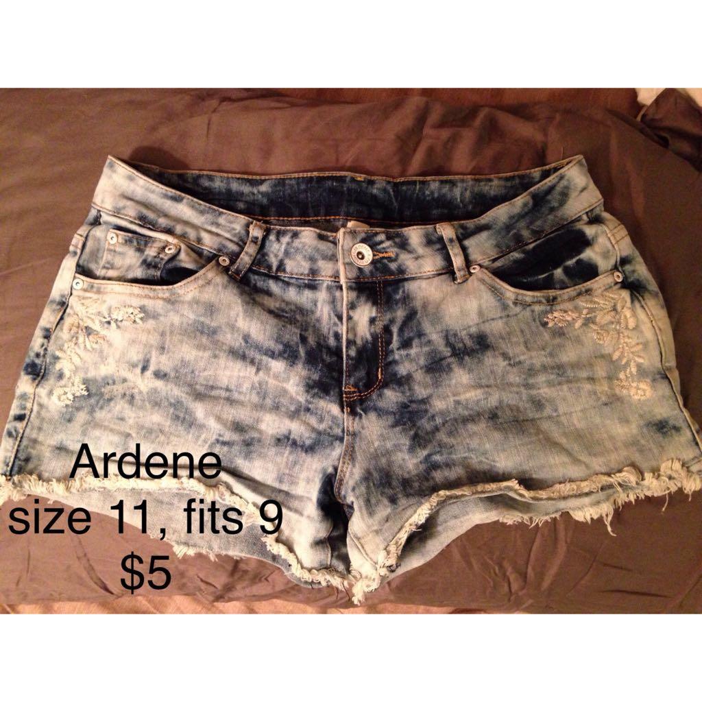 Bleach Dye Shorts