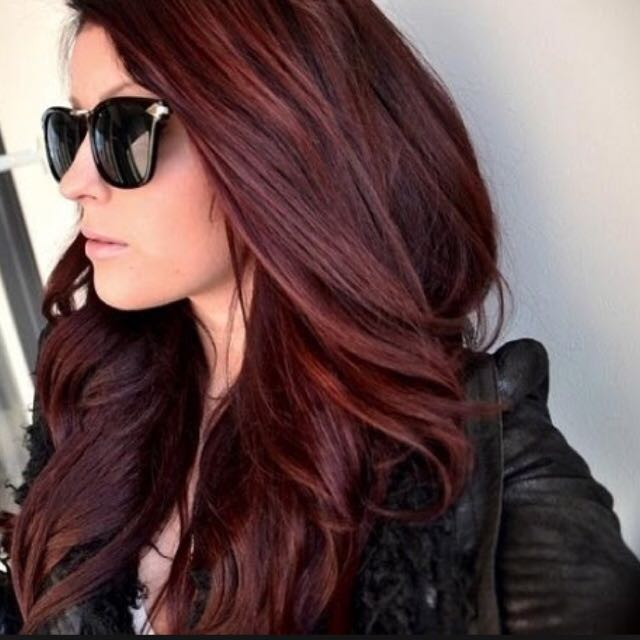 Revlon Dark Auburn Hair Dye Health Beauty On Carousell