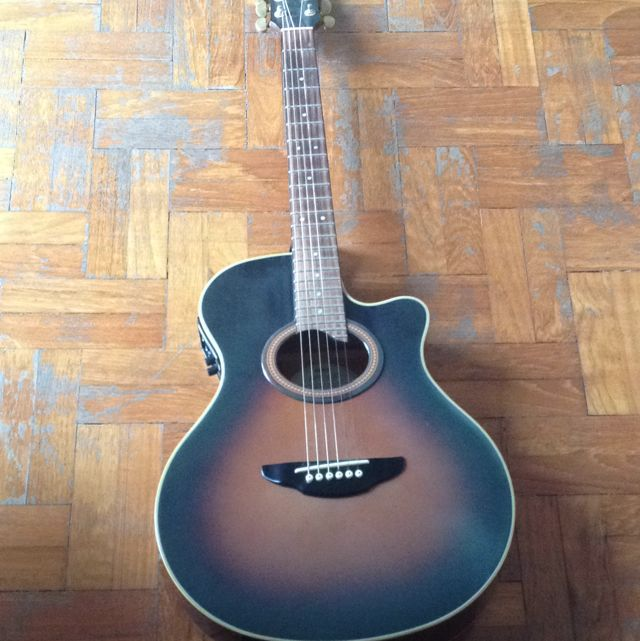 Yamaha apx 6a electric acoustic guitar music media on for Yamaha apx series