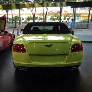 BENTLEY CONTINENTAL GT SPEED 4.0 MULLINER CONVERTABLE 2013