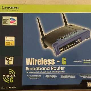 Linksys Wireless Broadband Router