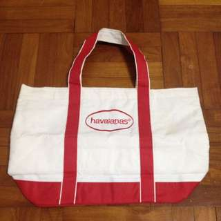 Havaianas Canvass Bag