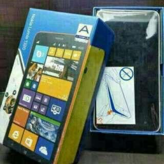 White Lumia 1320 - See The Bigger Picture