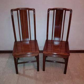 Rose  Wood Chair