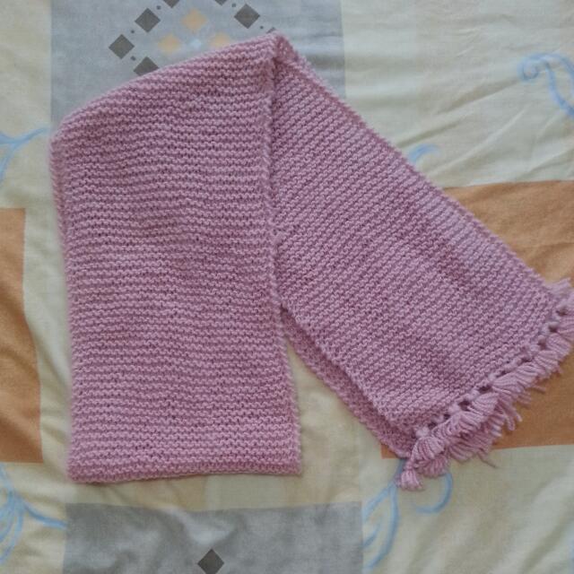 Hand Knitted Woollen Scarf