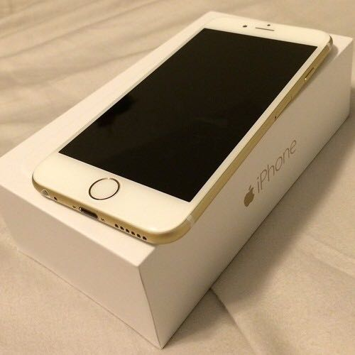 Iphone 6 Brand New 16gb Gold