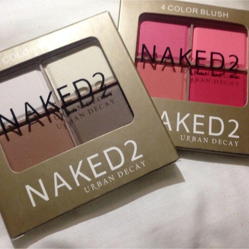 Naked 2 4 Color Blush