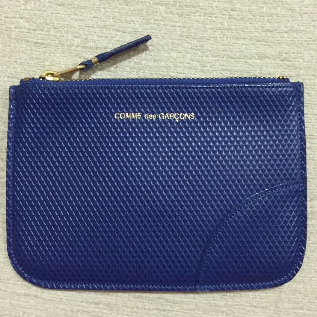 37b650a6578f2 Royal Blue Commes Des Garçons Pouch