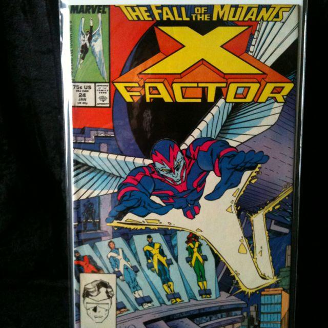 x factor 24 1st app of archangel origin of apocalypse vf nm