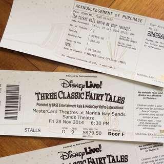 Disney LIVE!: 3 Classic Fairy Tales