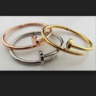 Nail Inspired Bracelet