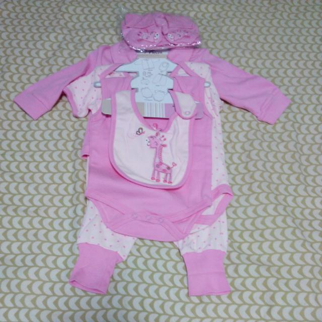 7pc Baby Clothes Starter Set