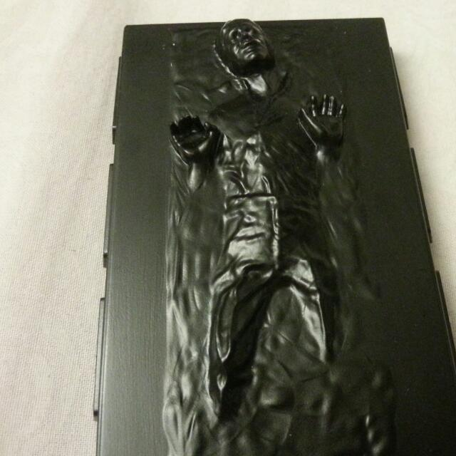 Han Solo In Carbonite Business Card Case Mens Fashion On Carousell