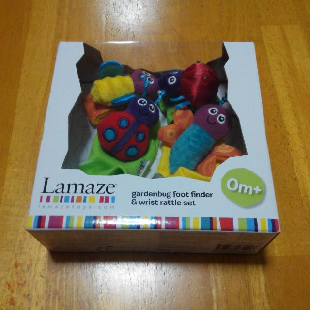 ( Reserved ) Lamaze Foot Finder And Wrist Rattle Set